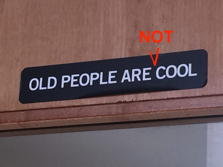 """Shades of Grey. Why the """"old people are cool"""" campaign does a disservice to old people"""